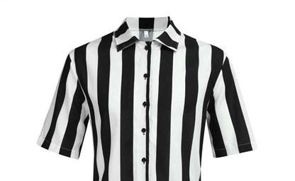 Низкая цена для мужские белые рубашки с черными пуговицами