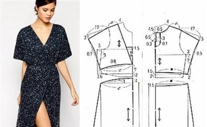 Выкройка вечернего платья в пол моделирование пошив видео