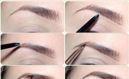 Как нарисовать брови карандашом поэтапная инструкция
