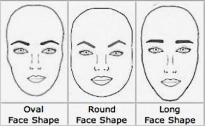 Правильная форма бровей для круглого лица красота