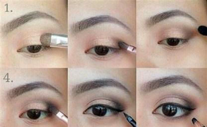 Как увеличить глаза с помощью макияжа Как визуально