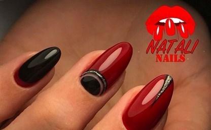 Красивый красно черный дизайн ногтей 2021 2021 45 идей