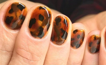Принт Леопарда на Ногтях Leopard Nails Tutorial