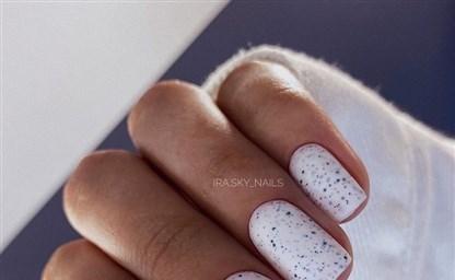 Модный маникюр зимы 2021 на короткие ногти 45 прекрасных