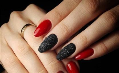 Красный дизайн ногтей 2021 2021 фото