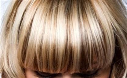 Мелирование осветленных волос а также обесцвеченных