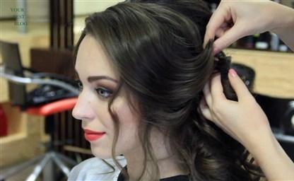 Модные прически с кудрями фото на разную длину волос