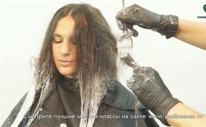 Омбре на русые волосы фото на короткие средние