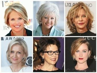 Прически и стрижки для женщин за 50 с фото