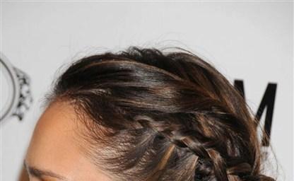 Прическа французский водопад короткие волосы элегантная
