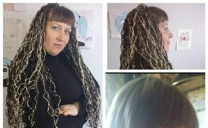 Прическа с множеством кос в этнической стилистике