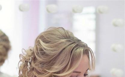 Свадебные прически на средние волосы все тренды