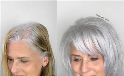Косметические средства по уходу за седыми волосами