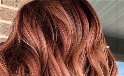 Светло рыжий цвет волос и рыжий блонд