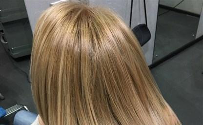 Тонирование желтых волос эстель тонирование волос