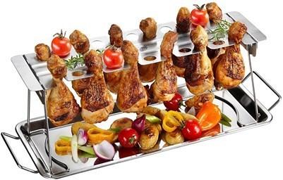 Курица запеченная в духовке на подставке 1
