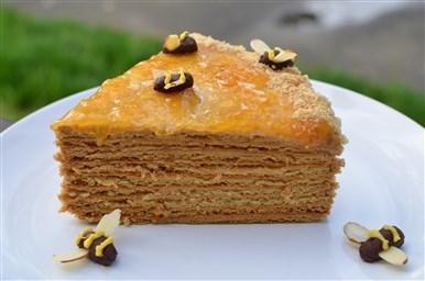 Торт Рыжик с заварным кремом кулинарный рецепт