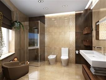 75 идей дизайн ванной комнаты в бежевых тонах с фото