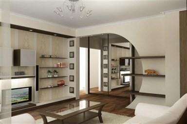 Дизайн трехкомнатной квартиры в панельном доме 460 фото