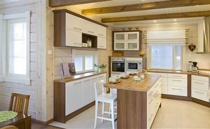 Кухня в деревянном доме советы дизайнеров 80 реальных фото