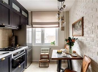 Дизайн кухни в панельном доме 9 кв 18 фото  Печный