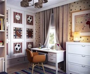 Варианты штор в комнату подростка мальчика дизайн и фото