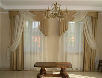 Шторы в зал на два окна 74 фото идеи для дизайна угловых