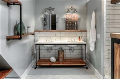 Ванная комната без плитки чем заменить дорогие и бюджетные