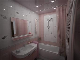 Ванная комната в панельном доме варианты отделки