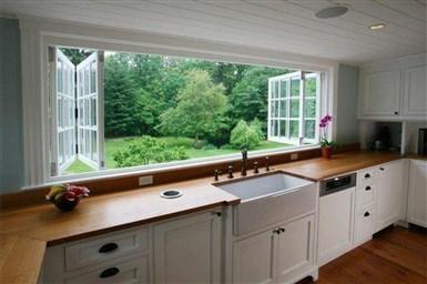 Как задействовать окна в дизайне кухни 4 супер способа 45