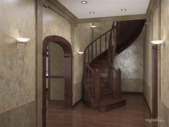 Дизайн прихожей с лестницей в частном доме интерьер холла