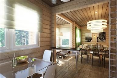 Кухня в деревянном доме 50 фото красивых интерьеров лучшие