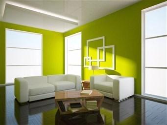 Возможности дизайна покраска стен в два и более цвета
