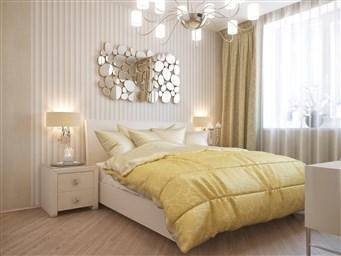 Дизайн яркой и спальни его особенности и нюансы