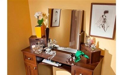 Красивые туалетные столики с зеркалом 40 фото